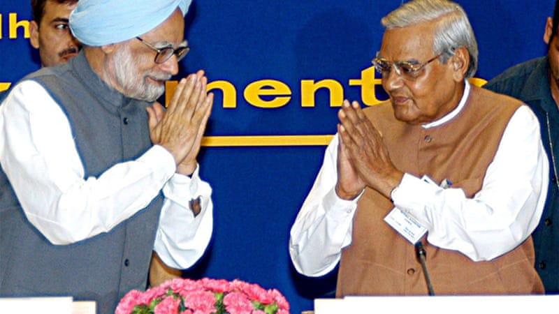 Vajpayee's PMO looked no different from Manmohan's if one replaces 10 Janpath with RSS headquarters in Nagpur [EPA]