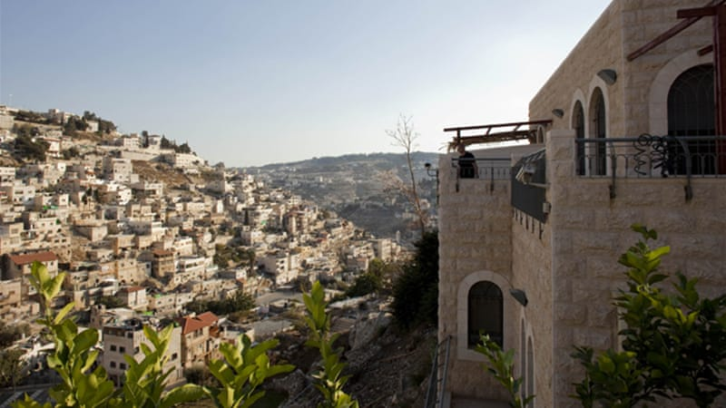Elad runs the City of David archaeological park, which overlooks the Palestinian neighbourhood of Silwan [AP]