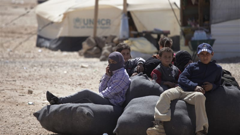 Amid a massive Syrian refugee influx, border control has become a pressing challenge, Jordanian officials say [AP]