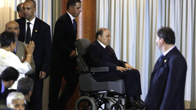Bouteflika, who has been in power since 1999 suffered a mini-stroke last year [Reuters]