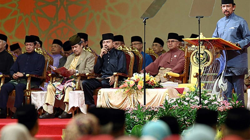 Brunei adopts 'phase one' of Islamic law | Brunei News | Al