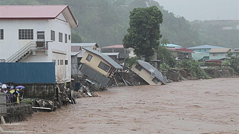 Observers said the flooding was one of the worst ever faced by the Pacific nation [World Vision]