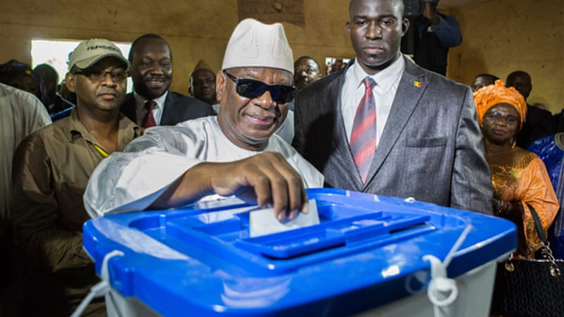 President Keita was elected in 2013 in the first presidential polls since 2007 [AP]