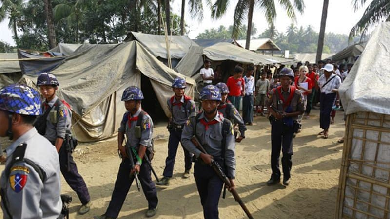 Rohingya abuse by Myanmar border police