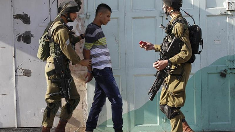 Palestinians are routinely arrested by Israeli authorities and held under 'administrative detention' [Reuters]