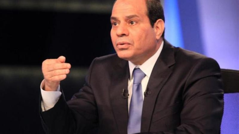 Sisi has restricted his campaign to television appearances and interviews [AFP]