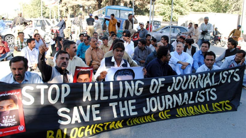 Pakistan remains one of the world's most dangerous place for journalists to operate  [File: EPA]