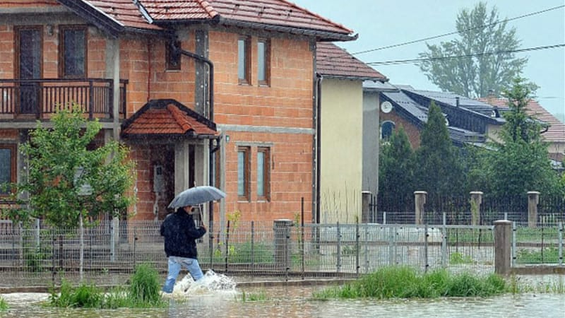 Several Homes In Sarajevo Have Been Evacuated As The Rivers Continued To Rise Afp