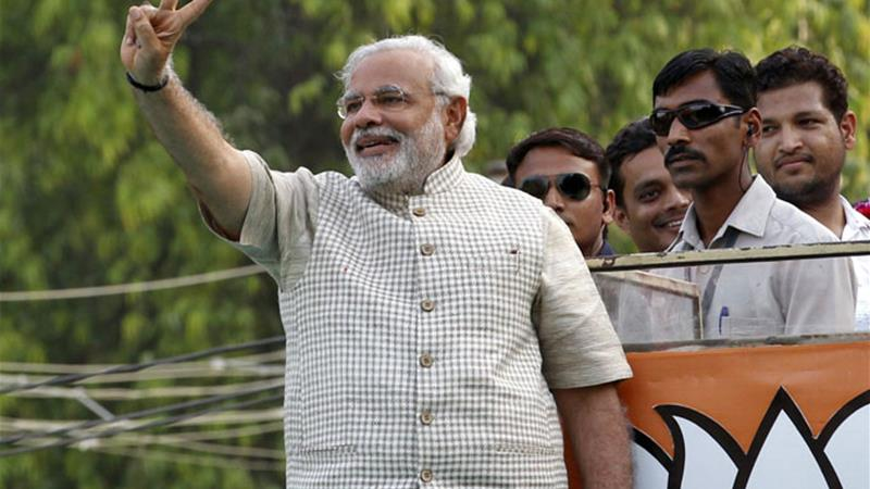 Narendra Modi will most likely be the next prime minister of India [AFP]