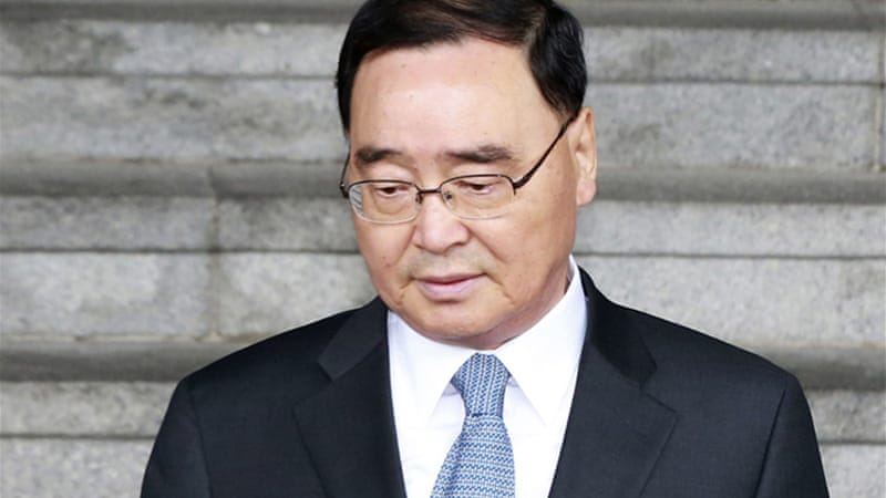 South Korea's prime minister stepped down because of the ferry sinking [AP]