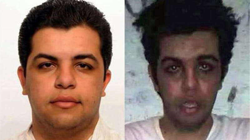 Elshamy insists he will not end his protest until he is released  [Al Jazeera]