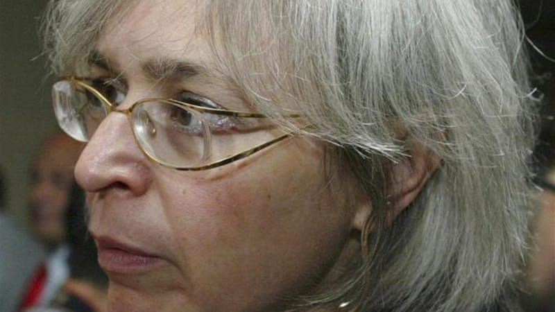 Politkovskaya, who was killed in 2006, specialised in uncovering state corruption and rights abuse [ AP]
