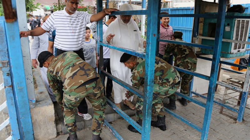 Authorities had imposed heavy security measures involving the closure of entire roads in Baghdad [AP]