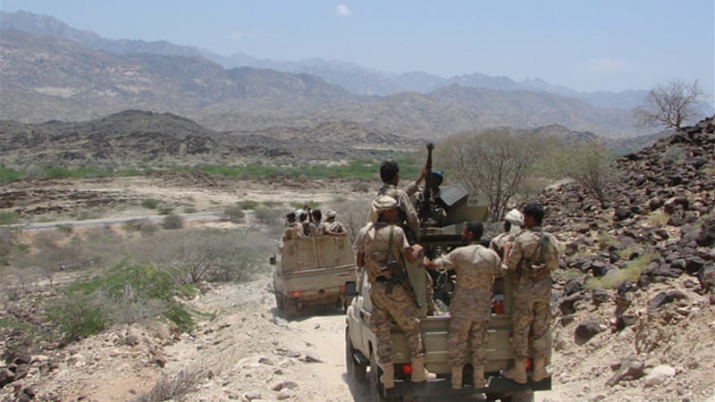 Yemen, backed by the US, has launched a military offensive to drive AQAP out of its southern provinces [AFP]