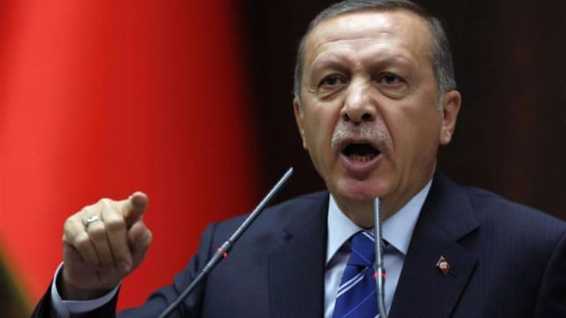 "Recep Tayyip Erdogan said CNN's Ivan Watson had been ""caught red-handed"" trying to bring chaos [File: AP]"