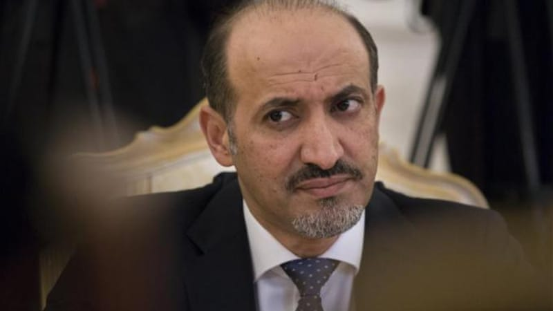 "Syrian opposition leader Ahmad Jarba welcomed the move as ""a diplomatic blow against"" the legitimacy of Assad [AP]"