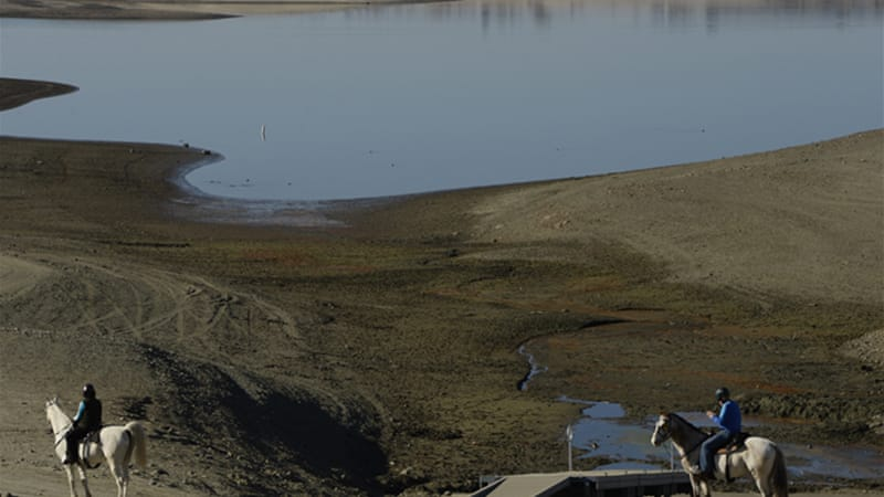 California is likely to be facing its worst drought since 1975-1977 [EPA]