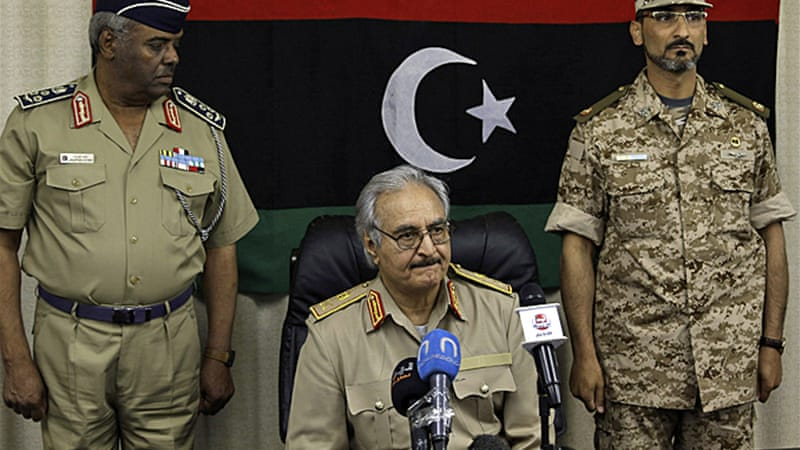 Hafter claims to have more than three-quarters of Benghazi under his control [Reuters]