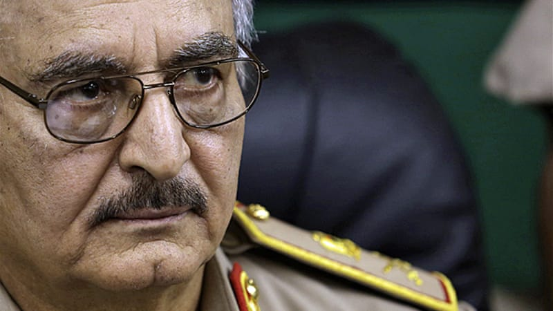 Haftar has waged an offensive against fighters he calls 'terrorists' in Libya's east [Reuters]