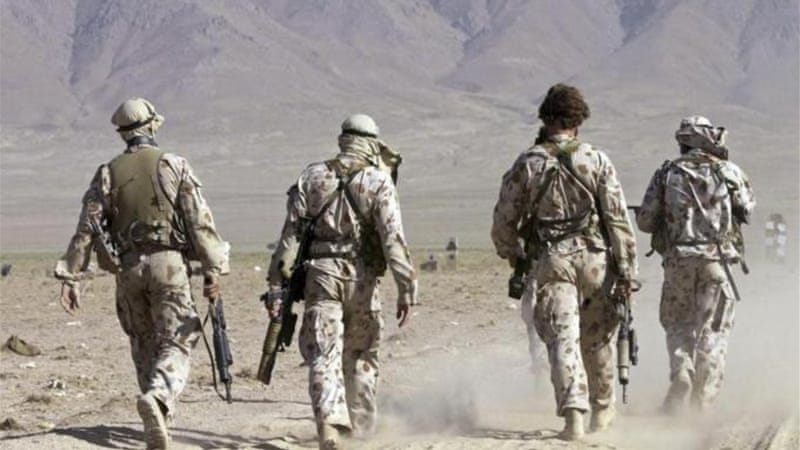 Australia has about 400 troops in Afghanistan in advisory and training roles [File: Reuters]