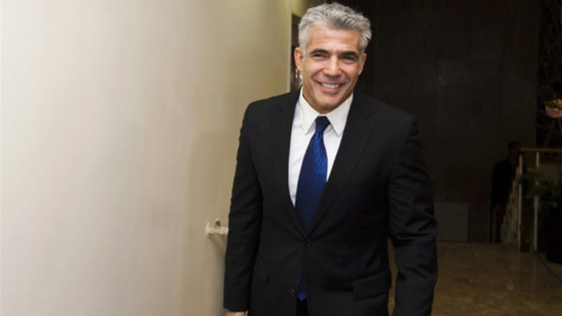 "Centre-left Yesh Atid Party said they would withdraw from government if ""even a single settlement"" is annexed [AP]"
