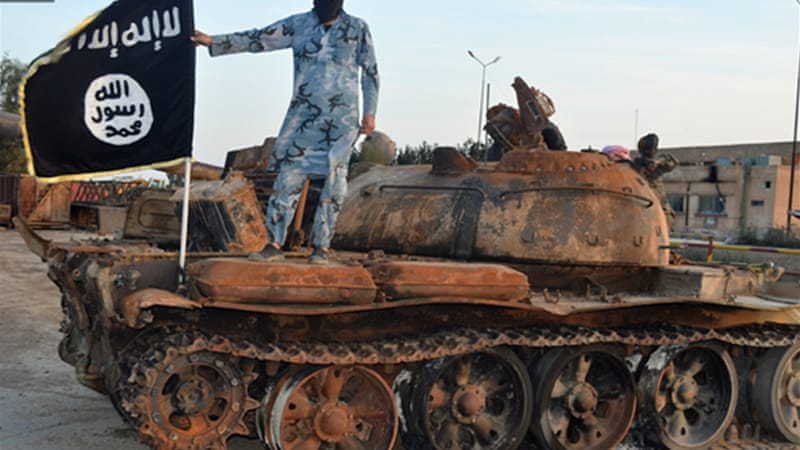 ISIL has fought across two countries in its quest for an Islamic state