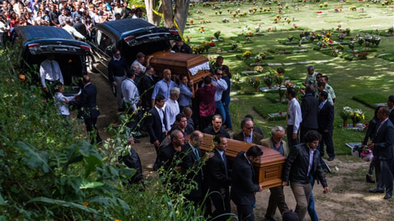 Demand for coffins has grown in recent years as Venezuela has one of the world's highest murder rates [ File-EPA]