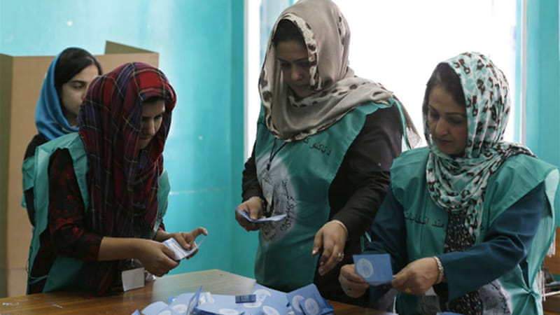 Afghanistan has been in paralysis due to the polls to choose the successor to President Hamid Karzai [Reuters]
