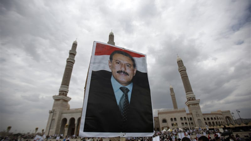 Ali Abdullah Saleh ruled Yemen with an iron fist for more than three decades [Reuters]