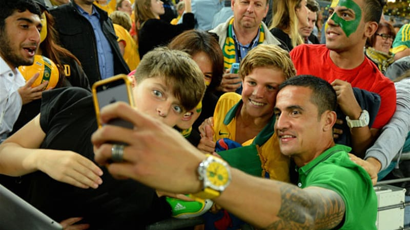 Australian striker Tim Cahill has played and scored in three consecutive World Cup tournaments [EPA]