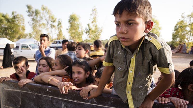According to aid agencies approximately 1.2 million people have been displaced in Iraq due to fighting. [Al Jazeera]