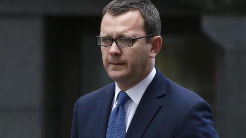 Andy Coulson, 46, ran the British leader's media operations from 2007 until 2011 [AP]