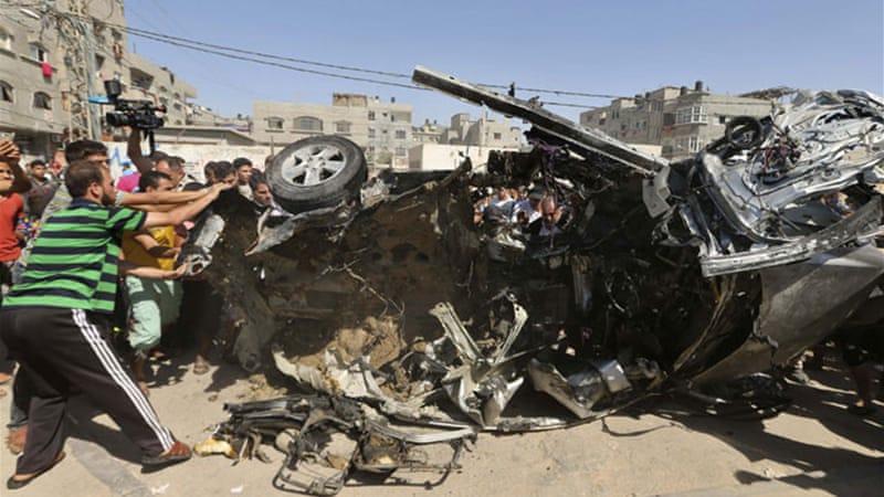 Israeli air strikes hit targets in Gaza   News   Al Jazeera