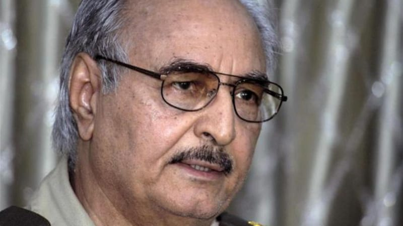 Army units loyal to General Haftar have been carrying out an offensive against armed groups in Libya's east [AP]