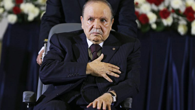 Several opposition groups have rejected President Bouteflika's attempt to involve them in national dialogue [EPA]