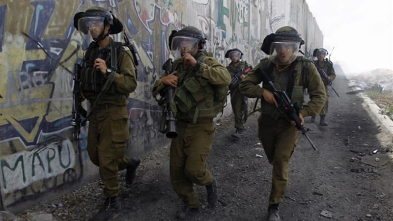 More than 400 arrested in the Israeli army's largest operation in the West Bank since the second intifada [Reuters]
