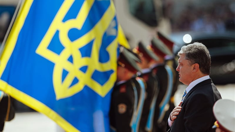 Petro Proshenko is Ukraine's fifth president since independence [EPA]