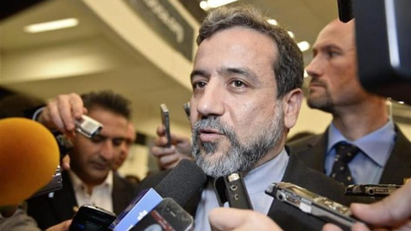 Araqchi said the talks were 'intense and difficult, but they are taking place in a positive atmosphere' [File pic - EPA]