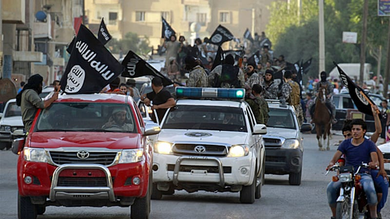 The Islamic State group has seized swaths of territory in Iraq and Syria and declared a caliphate [Reuters]