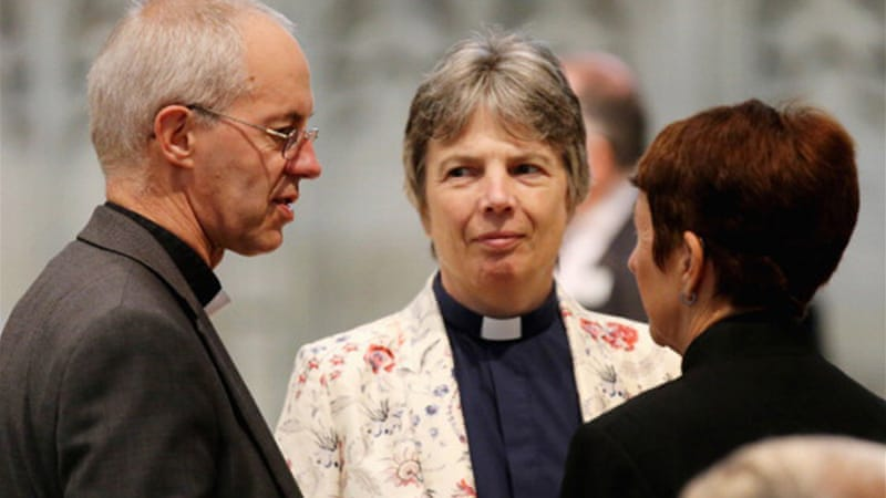 The Archbishop of Canterbury has been a strong supporter of ordaining female bishops. [C. Furlong/Getty Images]