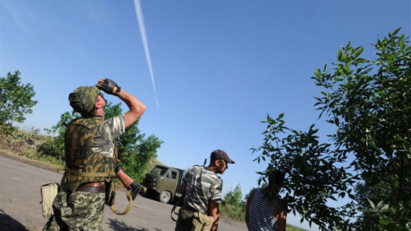 Pro-Russia rebels claimed responsibility for strikes on two Ukrainian Sukhoi-25 jets [AFP]