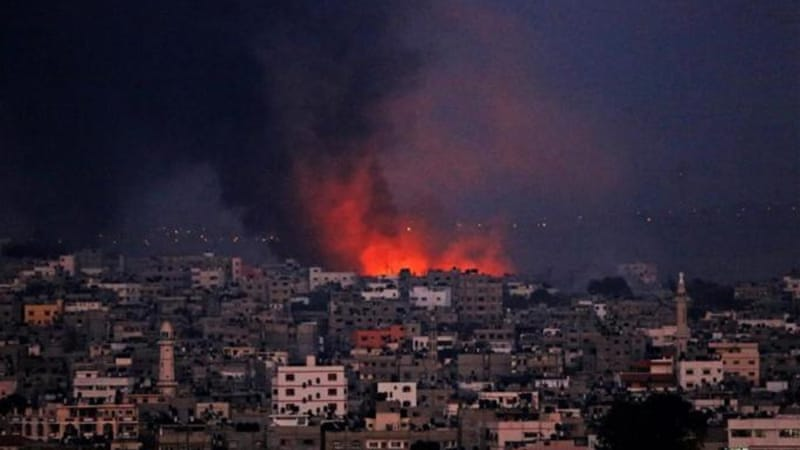 The conflict, the bloodiest since December 2009 has killed more than 570 Palestinians and 27 Israelis. [EPA]