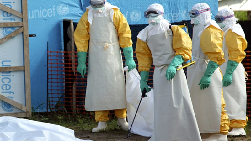 The death toll of West Africa's Ebola outbreak has reached about 660 people since February [EPA]