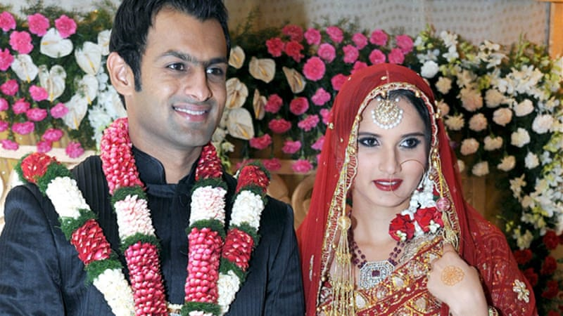 Indian tennis star Sania Mirza is married to Pakistani cricketer Shoaib Malik [File - EPA]