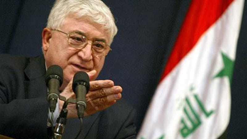 Maliki in his address said he would file a formal complaint to the federal court against President Fuad Masum [AFP]