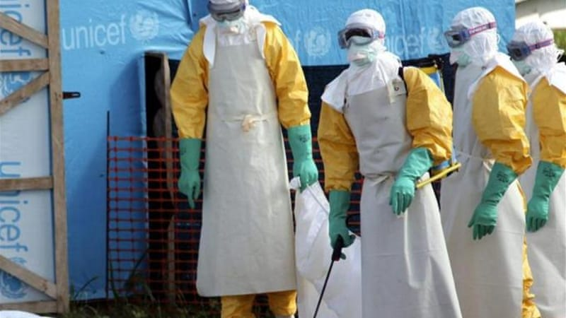 Ebola can kill up to 90 percent of those who catch it [EPA]