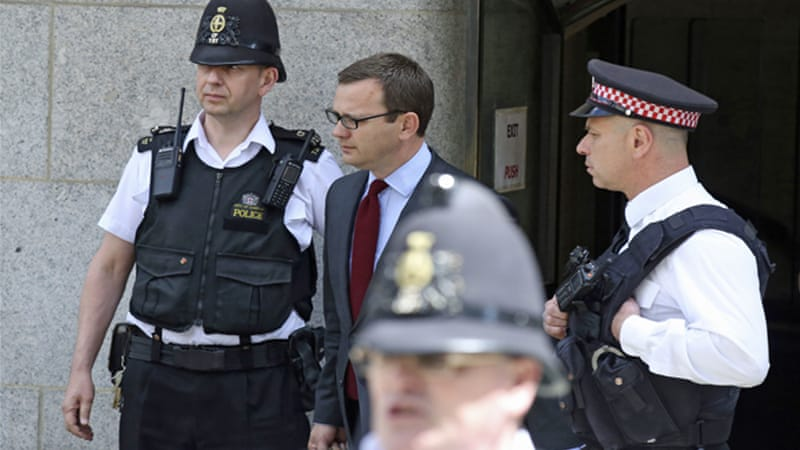 Coulson also faces a retrial on two charges of bribing police officers for royal phone directories [Reuters]