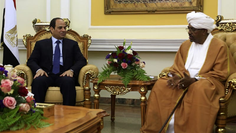 Egyptian President Abdel Fattah el-Sisi reached out to Sudan's President Omar al-Bashir in late June [Reuters]