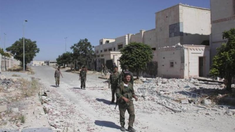 Forces loyal to Syrian President Assad last week seized the strategic Sheikh Najjar industrial area [Reuters]
