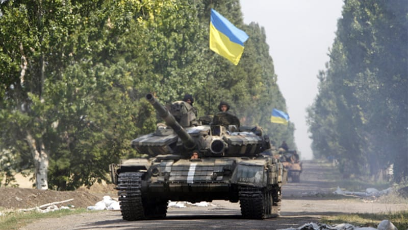 The Ukrainian army is capturing more ground from separatists in the east [Reuters]